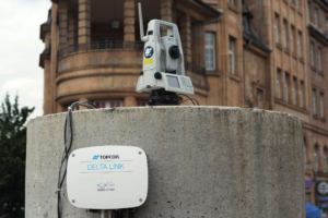 Topcon geotechnický monitoring