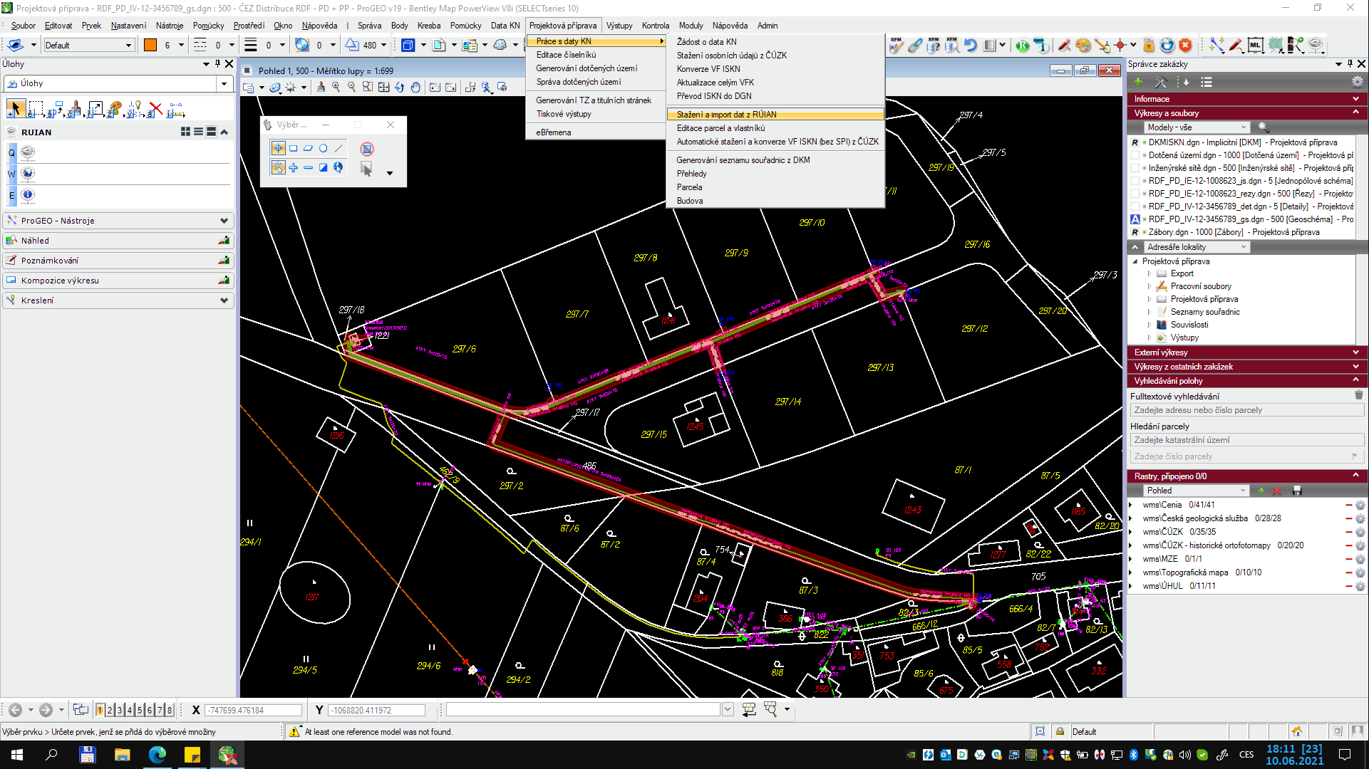 software-modul-projektova-priprava-enpro-progeo-screen1